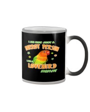Lovebirds Mommy Lover Color Changing Mug thumbnail