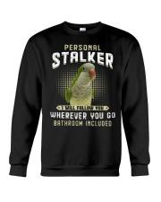 Personal Stalker Green Quaker Crewneck Sweatshirt thumbnail