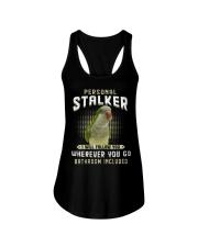 Personal Stalker Green Quaker Ladies Flowy Tank thumbnail