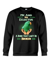 True love Me And My Eclectus  Crewneck Sweatshirt thumbnail