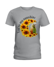 Pineapple Conure You Are My Sunshine  Ladies T-Shirt thumbnail