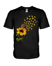 I Love My Birds V-Neck T-Shirt thumbnail