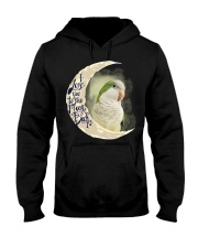 Green Quaker I Love You To The Moon And Back  Hooded Sweatshirt thumbnail