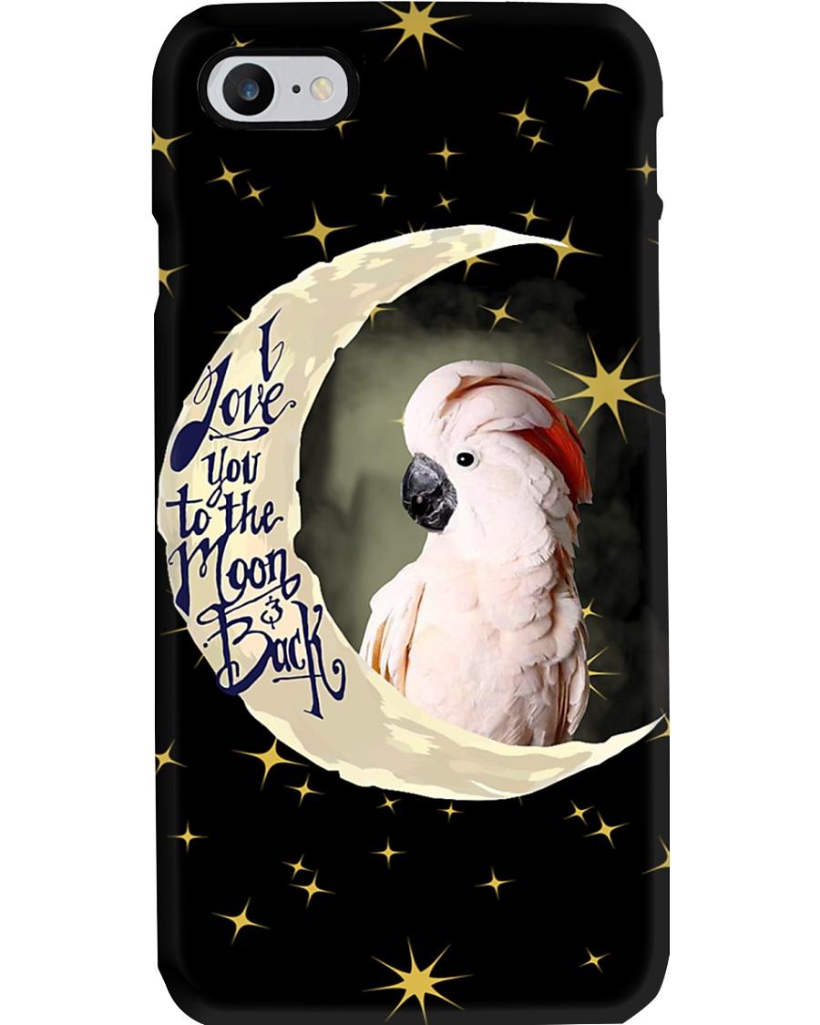 Moluccan Cockatoo Phone Case