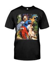 Unique Design For True Parrot Lovers  Classic T-Shirt front