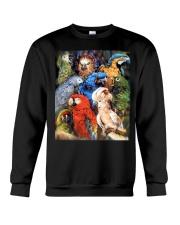 Unique Design For True Parrot Lovers  Crewneck Sweatshirt thumbnail