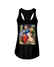 Unique Design For True Parrot Lovers  Ladies Flowy Tank thumbnail