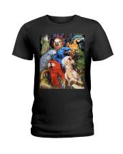 Unique Design For True Parrot Lovers  Ladies T-Shirt thumbnail