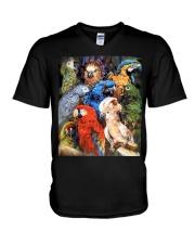 Unique Design For True Parrot Lovers  V-Neck T-Shirt thumbnail