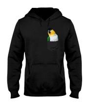 Black Headed Caique In Pocket Hooded Sweatshirt thumbnail