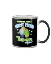 Budgies Mommy Lover Color Changing Mug tile