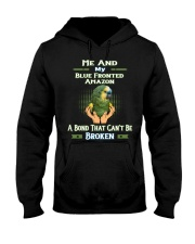 True Love Me And My Blue Fronted Amazon  Hooded Sweatshirt thumbnail