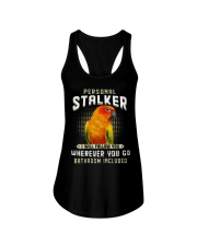Personal Stalker Sun Conure Ladies Flowy Tank thumbnail