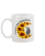 African grey You Are My Sunshine  Mug back