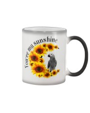 African grey You Are My Sunshine  Color Changing Mug thumbnail