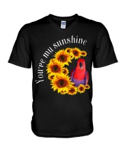 Eclectus You Are My Sunshine  V-Neck T-Shirt thumbnail
