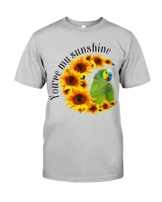 Blue Fronted Headed Amazon You Are My Sunshine  Classic T-Shirt front