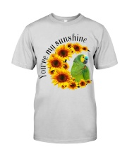 Blue Fronted Headed Amazon You Are My Sunshine  Premium Fit Mens Tee thumbnail