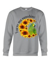 Blue Fronted Headed Amazon You Are My Sunshine  Crewneck Sweatshirt thumbnail