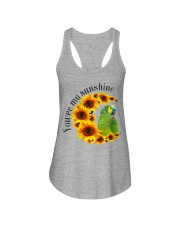 Blue Fronted Headed Amazon You Are My Sunshine  Ladies Flowy Tank thumbnail