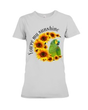 Blue Fronted Headed Amazon You Are My Sunshine  Premium Fit Ladies Tee thumbnail