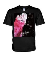 Lovely Galah Cockatoo  V-Neck T-Shirt thumbnail