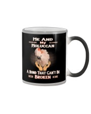 True Love Me And My Moluccan Cockatoo  Color Changing Mug thumbnail