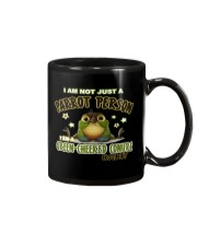 Green Cheeked Conure Daddy Lover  Mug tile