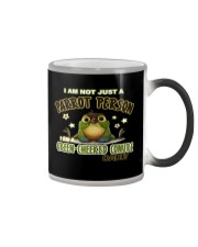 Green Cheeked Conure Daddy Lover  Color Changing Mug thumbnail