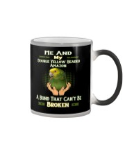 True Love Me And My Double Yellow Headed Amazon  Color Changing Mug thumbnail