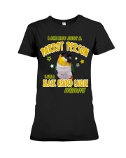 Black Headed Caique Mommy Lover  Premium Fit Ladies Tee thumbnail