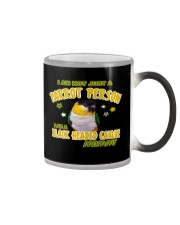 Black Headed Caique Mommy Lover  Color Changing Mug thumbnail