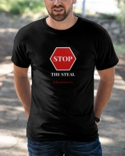 Stop The Steal Election 2020 Classic T-Shirt apparel-classic-tshirt-lifestyle-front-50