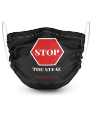Stop The Steal Election 2020 2 Layer Face Mask - Single thumbnail