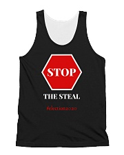 Stop The Steal Election 2020 All-over Unisex Tank thumbnail