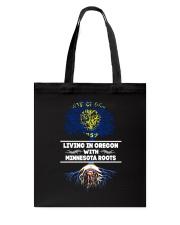 OREGON WITH MINNESOTA ROOT SHIRTS Tote Bag thumbnail