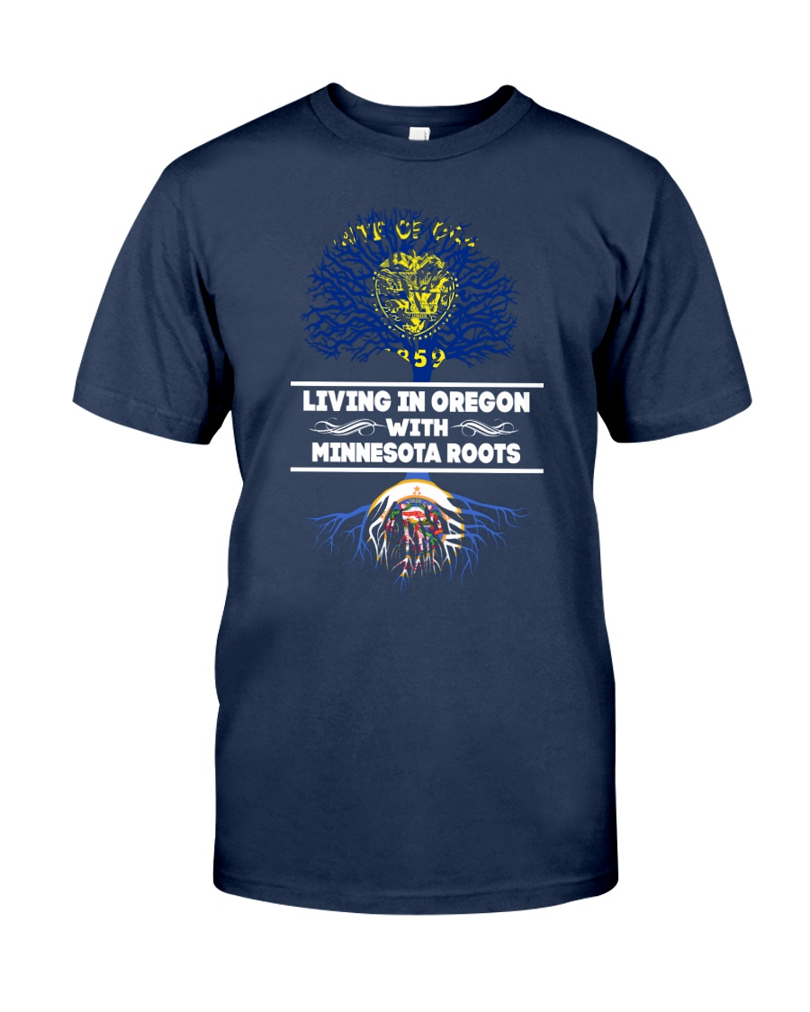OREGON WITH MINNESOTA ROOT SHIRTS Classic T-Shirt
