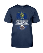 OREGON WITH MINNESOTA ROOT SHIRTS Classic T-Shirt front