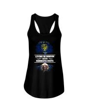 OREGON WITH MINNESOTA ROOT SHIRTS Ladies Flowy Tank thumbnail