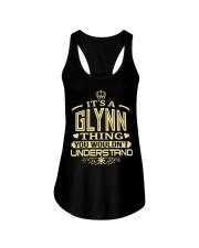 GLYNN THING GOLD SHIRTS Ladies Flowy Tank thumbnail