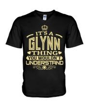 GLYNN THING GOLD SHIRTS V-Neck T-Shirt thumbnail