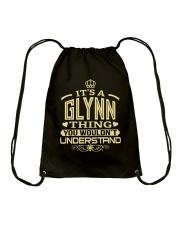 GLYNN THING GOLD SHIRTS Drawstring Bag thumbnail