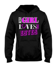 GIRL LOVES HER ESTES SHIRTS Hooded Sweatshirt thumbnail
