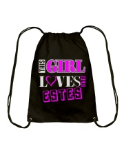 GIRL LOVES HER ESTES SHIRTS Drawstring Bag thumbnail