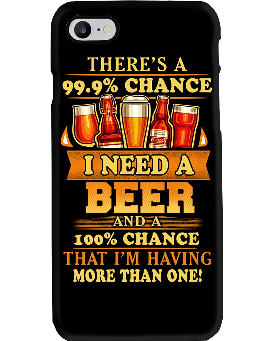 I Need A Beer Phone Case