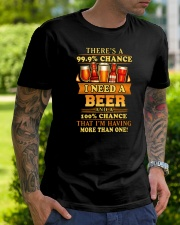 I Need A Beer Classic T-Shirt lifestyle-mens-crewneck-front-7