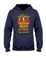I Need A Beer Hooded Sweatshirt thumbnail