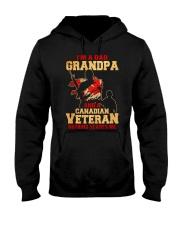 Canadian Grandpa Hooded Sweatshirt front