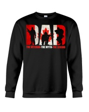 Canadian Veteran Grandpa-DAD Crewneck Sweatshirt thumbnail