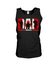 Canadian Veteran Grandpa-DAD Unisex Tank tile